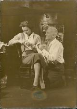 Acteur Raymond Rouleau, ca.1952, Vintage silver print Vintage silver print