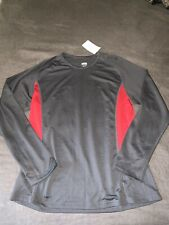 Nwt Men'S Authentic Nike Running Fitness Basketball Long-Sleeved Top Size L