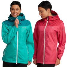 Polyester Hood Regular Size Coats & Jackets for Women