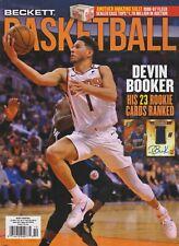 Beckett Basketball Price Guide Magazine October 2020 Devin Booker cover