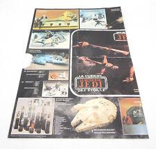 Kenner STAR WARS RotJ Vintage Trilogo Poster Katalog Action Figur flyer #P01