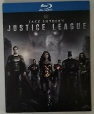 New listing Zack Snyder's Justice League (Blu ray) D.C., (2021) New w/slipcase.