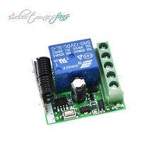 DC12V 10A 315/433MHz Wireless Relay RF Remote Control Switch Receiver Module