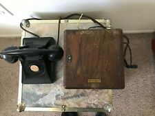 Western Electric Manual Hand-crank Telephone with Dagneto Electric Generator