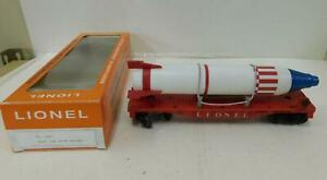 LIONEL 6407 FLATCAR WITH MISSILE