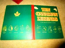 1955 Stated First TEN CANADIAN LEGENDS Jack Tremblay 1 From Each Province Rare!