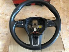 Steering Wheel VW TOUAREG 7p Brown Leather Heated