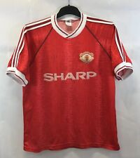 Manchester United Home Football Shirt 1990/92 Adults Large Adidas