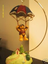 Cherished Teddies _ Rusty - Take a leap of faith - boy w/ parachute 2001