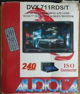 "AUTORADIO AUDIOLA DVX-711 CON MONITOR 7"" Touch Screen"