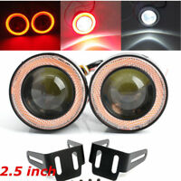 """2x 2.5"""" Eagle Eye Nebelscheinwerfer LED Arbeitslicht Tagfahrlicht Auto Motorrad"""