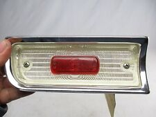 *NOS* 1964 Chevy Chevelle Malibu LH Driver Side Back Up Light Assembly W / Lens