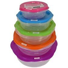 10pc Set étanche de stockage de denrées alimentaires conteneurs BPA Free Réutili...