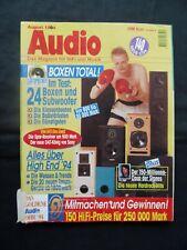 AUDIO 8/94,PIONEER A 09,PIEGA LDR 2.2,SONY DTC 60 Es,MIRAGE PS 12 180,LASER E 20