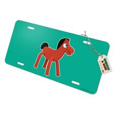 Pokey Gumby's Horse Pony Pal Friend Novelty Metal Vanity Tag License Plate