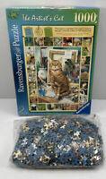 RAVENSBURGER THE ARTIST'S CAT 1000PC PUZZLE Complete