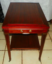 Mahogany End Table / Side Table by Mersman  (T650)