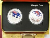 2005 ANZACS AUSTRALIA & NEW ZEALAND Silver Proof Coin Set