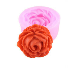 Rose Flower Silicone Mold for Fondant Cake Decorating Chocolate Cookie Soap