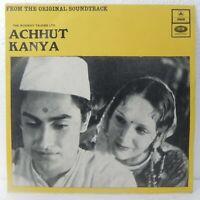 Achhut Kanya EP Record Bollywood Hindi Film Ashok Kumar Rare Vinyl Indian EX