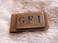 Gfi Money Clip Vintage General Felt Industries
