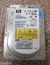"HP 3.5"" 73GB 10k HOT SWAP Ultra~320 SCSI Hard Drive HDD, No Caddy, 9X3006-054"