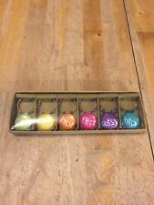 Pier 1 Imports NEW Drink Wine Charms NEW in Box 6