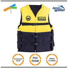 Jarvis Walker Watersnake Nomad PFD Life Jacket Vest Fishing Level 50 Extra Large