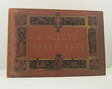 Anonimo, Societa' promotrice di Belle Arti in Torino. Ricordo