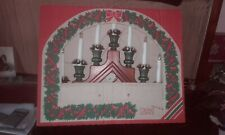 Boxed Konstsmide electric christmas candle arch