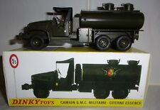 French Dinky Toys No823 GMC Army Fuel Tanker
