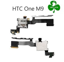 For HTC One M9 Power Volume Button Flex Cable SD Holder Reader Slot New