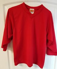 Easton red large hockey jersey NEW