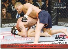2009 TOPPS UFC ROUND 1 ROOKIE RC DEBUT GEORGE SOTIROPOULOS #76