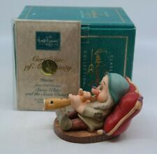 WDCC Snow White and the Seven Dwarfs - ZZZZZZZ SLEEPY MIB w/ COA