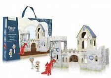 Puzzle decor: il castello dei cavalieri, età 4-6+ NUOVO DA NEGOZIO INCELLOPHANAT
