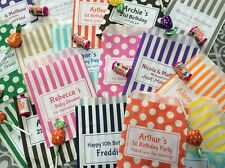 PERSONALISED SWEET BAGS Candy Cart Wedding Christening Birthday Mehndi