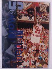 MICHAEL JORDAN Upper Deck 1994-95 Then and Now Basketball Card #359