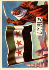 1956 A & BC Flags of the World Mini 4 Syria NM #D376370