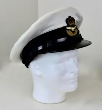 Canadian British Vintage 7 Gieves and Hawkens Military White Hat w RCAF Badge