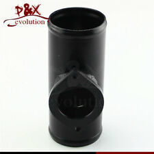 """Type-S/RS Style 2.5"""" Aluminum Turbo Blow Off Valve Flange Adapter Tube Pipe BK"""