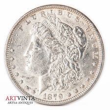 1879 Morgan One Dollar Silver Silber Münze USA Amerika Coin Liberty