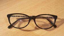 Chanel CH3221-Q c.1282 Black/Gold 53mm Frames Eyeglasses Italy
