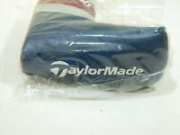 New Taylormade Limited Edition British Open Blade Putter Headcover Navy/Burgundy