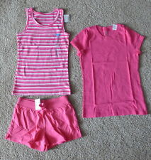 NWT Children's Place TCP Girl Pink Summer Shorts Shirt Tank Lot of 3, Size 7/8