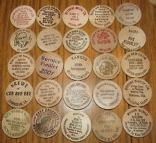 Lot of 25 Wooden Nickels - #25
