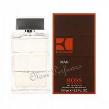 Boss Orange Man by Hugo Boss Eau de Toilette Spray 3.3oz 100ml * New in Box