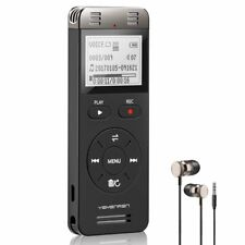 Digital Voice Activated Audio Recording Device 8GB Voice Recorder Player-Lecture