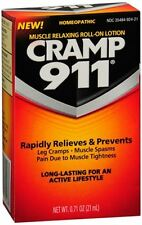 Cramp 911 Muscle Relaxing Roll-On Lotion 21 mL (Pack of 5)