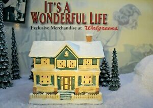ENESCO IT'S A WONDERFUL LIFE VILLAGE - Ma Bailey's House item 112998 with Box